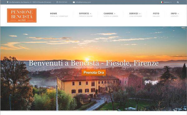 Pensione Bencistà – Fiesole, Firenze