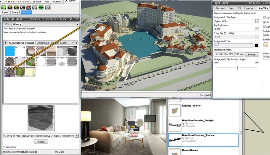 Rendering Grafico a Firenze